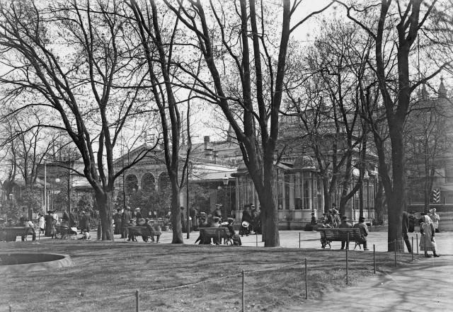 Kappelin kuhinaa vuonna 1900-luvun alussa.