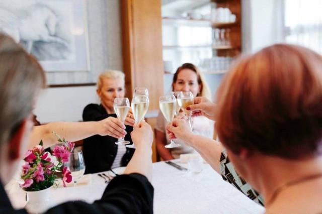 Henriks on rennon tyylikäs ravintola.
