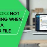 QuickBooks not Responding when Opening a Company File