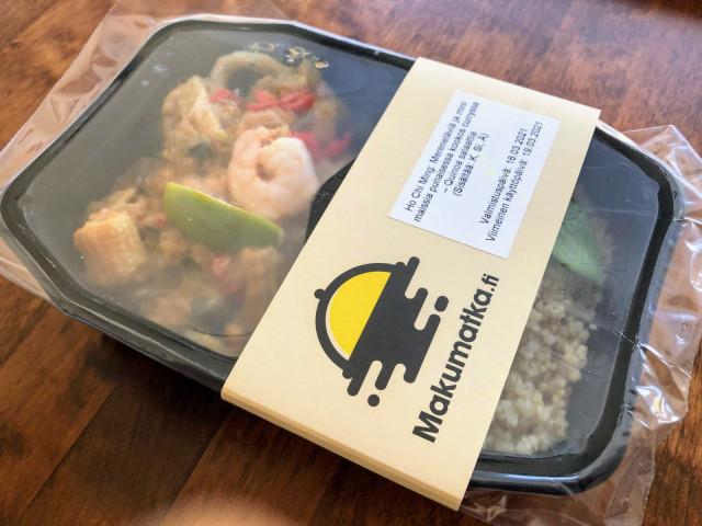 Makumatkan ateriat toimitetaan kylminä, lämmitystä vaille valmiina.