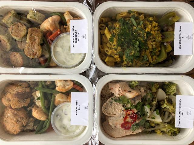 FuelMe tarjoaa niin kala-, liha- kuin kasvisvaihtoehtoja.