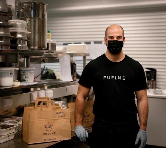 Pieter Dreesenin luoman FuelMe-palvelun aterioita saa myös kotiinkuljetettuna.