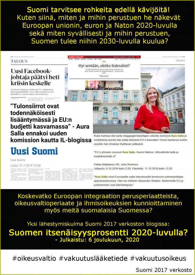Suomesta toimiva mallimaa. Myös suomalaisille itselleen.