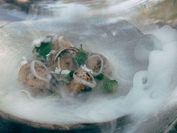 Nielun menu perustuu villiyrtteihin ja kotimaisten tuottajien raaka-aineisiin.