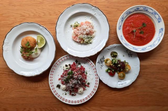 Ilveksen kesämenu on täynnä upeita ruokalajeja.