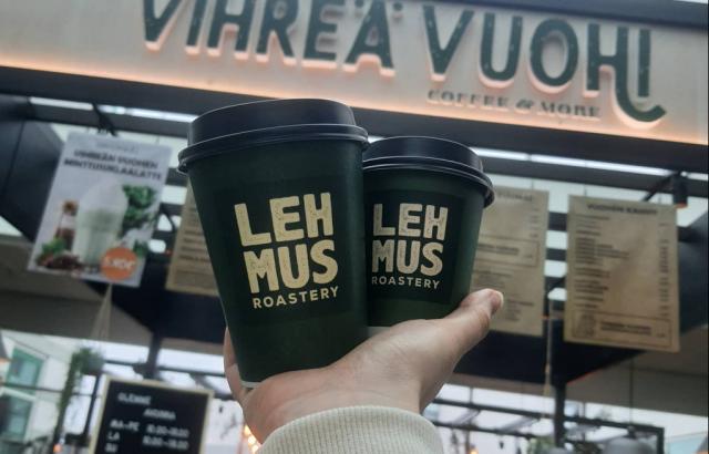 Vihreä Vuohi panostaa kahvin laatuun.