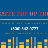 Fix [806-542-0777] to Stop McAfee POP UPS  on Windows 10 in 2021