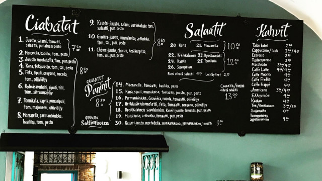 Gran Delicaton listalta löytyy vaihtoehtoja niin pieneen kuin vähän isompaan nälkään.