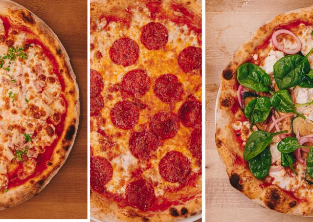 SYÖ!-viikoilla pääset testaamaan kympillä kolmea erilaista pizzaa.