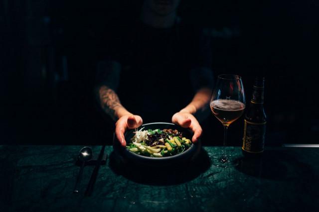 Old Boyn korealainen ruoka vakuutti keittiömestarin.