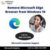 remove Microsoft Edge from pc