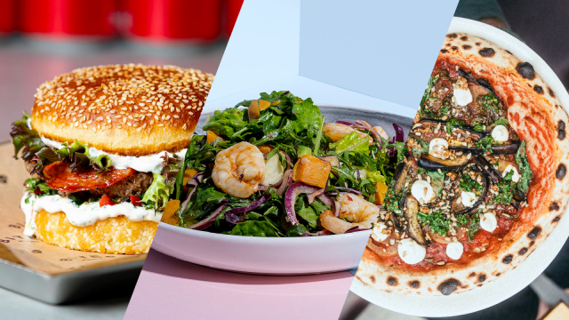 Ensimmäisen Tapiola Food Court by Huuvan ravintoloita ovat Bites Burgers, Story ja Pupu.