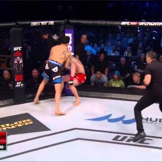 Oliko Amirkhanin tyrmäys nopein UFC-tyrmäys ikinä?