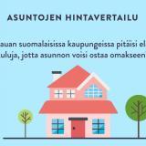 Osta asunto nopeasti - missä on kalleinta ja edullisinta?