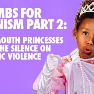 Kiroilevat pikkutytöt haluavat lopettaa naisiin kohdistuvan väkivallan