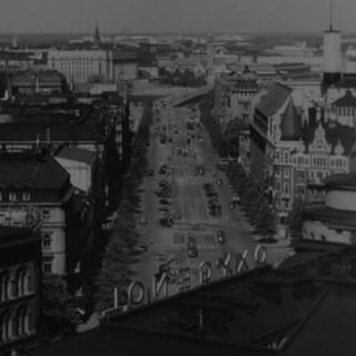 Tältä näytti Helsingin keskusta vuonna 1949