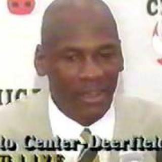 Minun nimeni on Michael Jordan ja minulla on ongelma