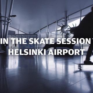 Helsinki-Vantaa kutsuu skeittareita