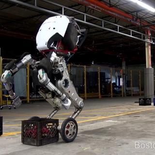Katsokaa, kuinka jalosti Handle-robotti liikkuu