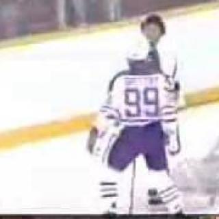 Wayne Gretzkyn ura tappelijana