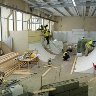 Tampereelle rakennetaan pitkäaikaistyöttömien voimin huippuluokan skeittihalli